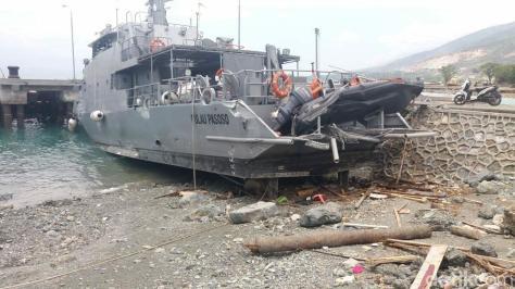 KAL Pulau Pasoso terdampak Gempa dan Tsunami di Sulteng. (Detik)
