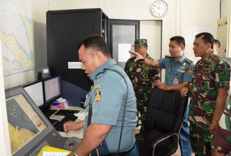 Kunjungan Kapuskodal Dalam Rangka Survei Kondisi Peralatan IMSS