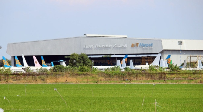 Merpati Maintenance Facility Dijadikan Pusat Perawatan Pesawat Militer