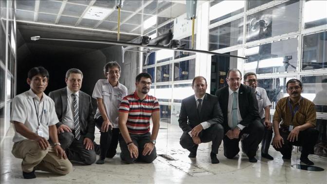 TAI Perkuat Kerja Sama Pengujian UAV dengan BPPT di Serpong
