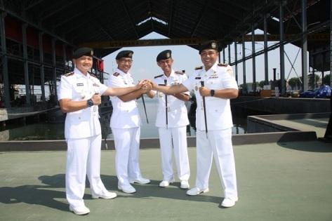 Pergantian jabatan Komandan KRI Cakra -401