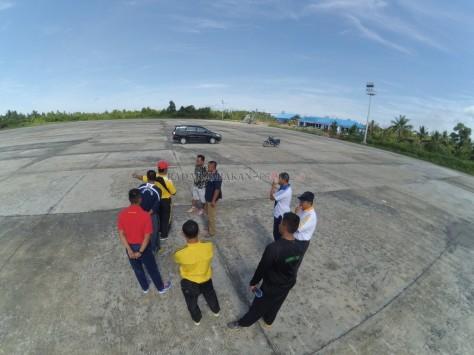 Perluasan apron sengaja dilakukan lantaran untuk menyediakan parkiran yang luas bagi pesawat tempur yang akan singgah ke Tarakan