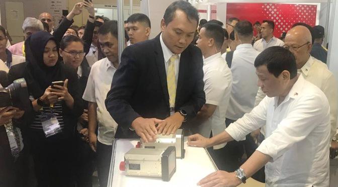 Infoglobal Pamerkan Avionik Pesawat Angkut  di ADAS 2018
