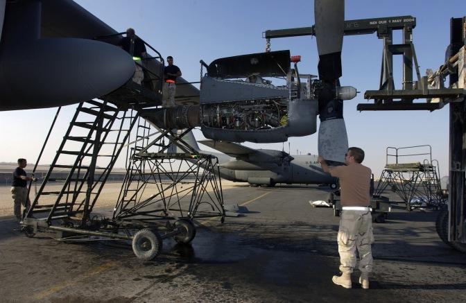 Presentasi Perawatan Engine T-56 Hercules oleh PT GMF Aero Asia