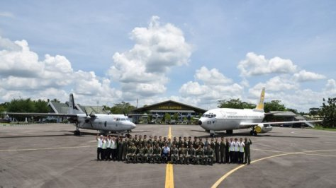TNI AU dan Republic Of Singapore Air Force (RSAF) menggelar Latihan Barsama