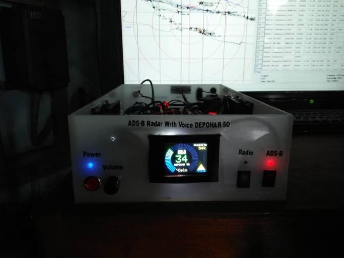 Uji Dinamis Radar ADS-B buatan Depohar 50