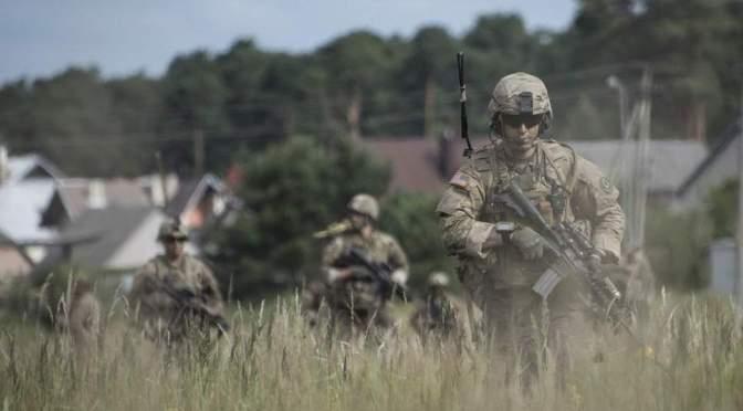 Kodam VI Mulawarman Rancang Puslatpur Modern, Latihan Perang Model Tentara NATO