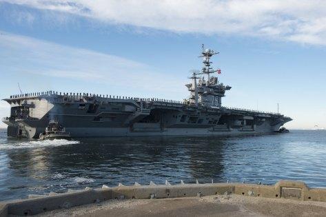 USS Harry S. Truman (CVN 75) (Navy Times)