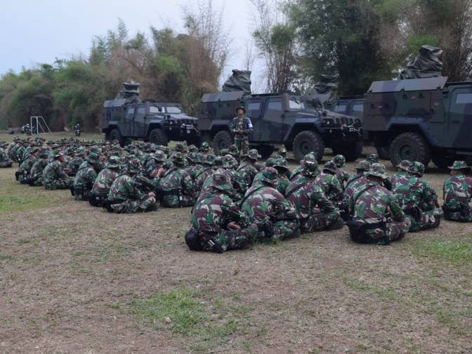 Yonarhanud 1 Kostrad Laksanakan Latihan UST Tingkat Baterai