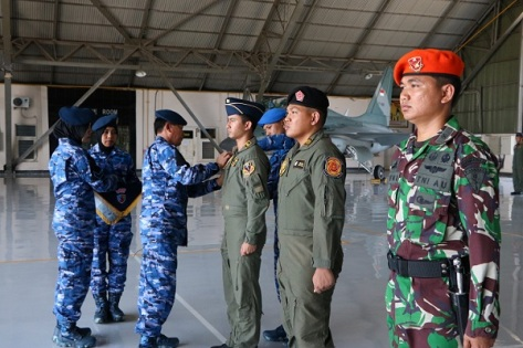 Asops Kasau Marsekal Muda TNI Johanes Berchmans S.W. (TNI AU)