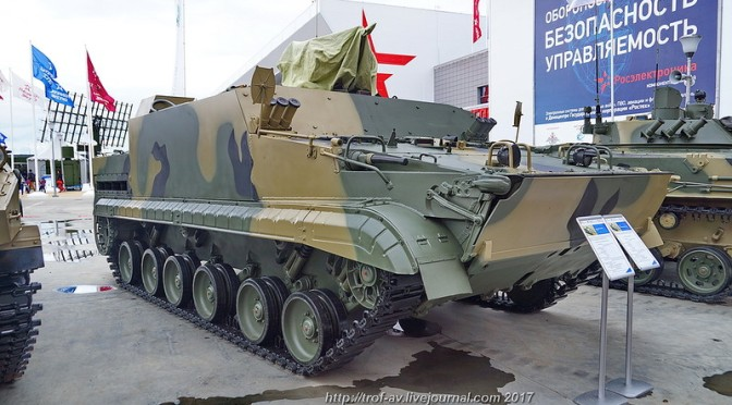 Indonesia Akusisi 22 Unit BMP-3F dan 21 Unit BT-3F