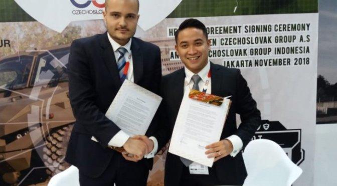 Czechoslovak Group Investasi 100 Juta Dolar Bangun Industri Pertahanan