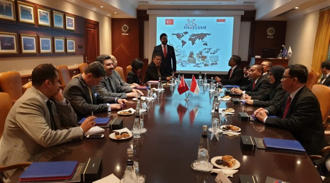 Defence Industry Cooperation Meeting RI – Turki