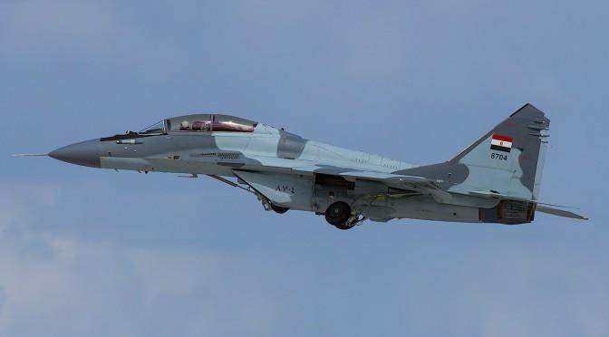 Pesawat Tempur MiG-29M Mesir Jatuh