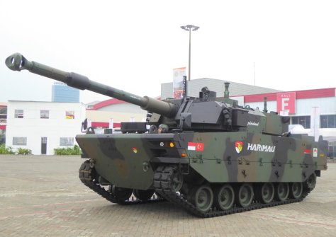 Harimau medium tank demonstrated at Indo Defence 2018 (Army Recognition)