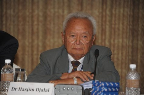 Hasjim Djalal (Istimewa)