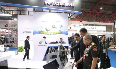 Infoglobal Di Indo Defence Expo & Forum 2018