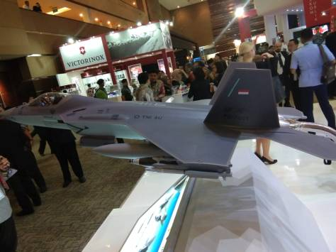 KF-X IF-X di Indo Defence 2018 (Gombal Jaya) 2
