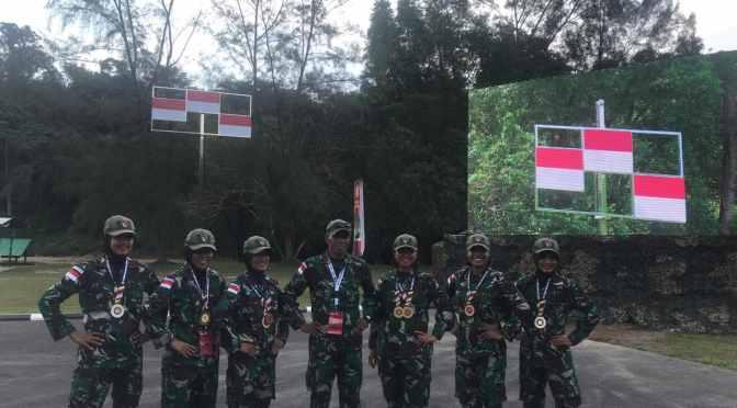 Kontingen AARM Indonesia Tiga Kali Sapu Bersih Medali