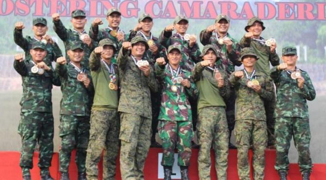 TNI AD Raih 7 Trophy dan 28 Emas di AARM ke-28