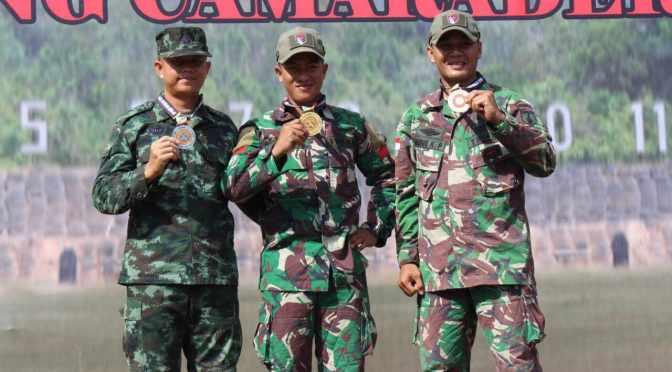 Kontingen TNI AD Raih 1 Trophy dan 4 Medali di Hari Kedua AARM 2018