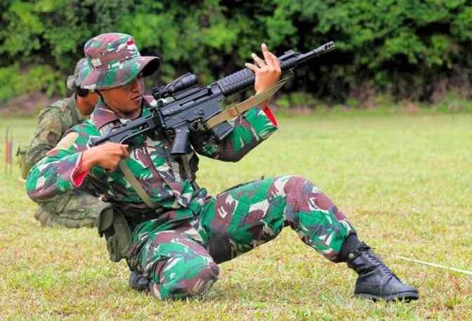 Kontingen TNI AD Sabet Bersih Medali Emas di Hari Pertama AARM 2018