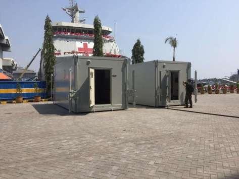 LPD KRI Semarang 594 (Kolonel Laut dr Mozart, SpB) 1