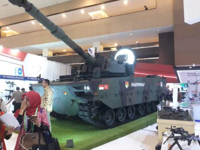 Indonesia Targetkan Bangun 412 Unit Medium Tank
