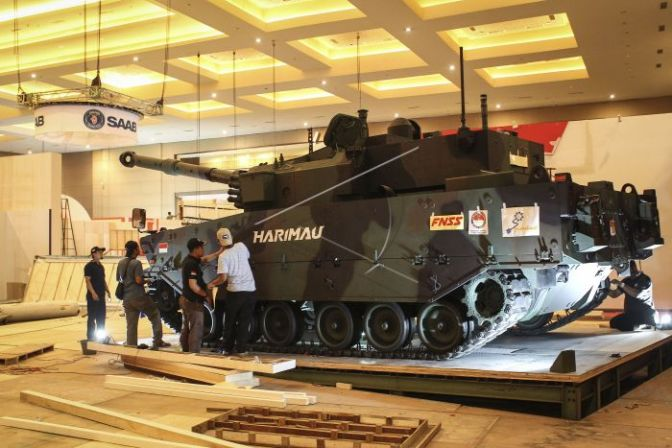 Indo Defence 2018: Presiden Joko Widodo Akan Berikan Nama Medium Tank