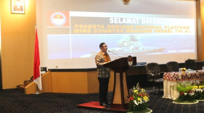 Seminar Material Platform Mine Countermeasures Vessel (MCMV)