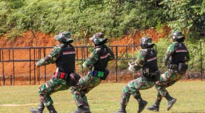 Tim TNI AD Pecahkan Rekor Raihan  AARM 2018 dengan Tembus 32 Emas