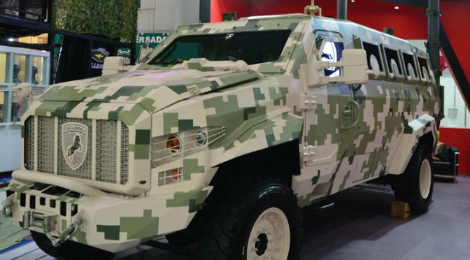 Indo Defence 2018: Versi Baru APC Turangga 4X4