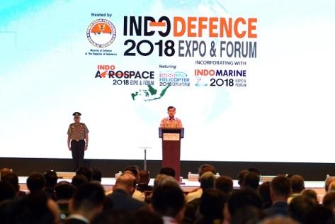 "Wapres RI Resmi Buka Pameran Industri Pertahanan ""Indo Defence 2018 Expo & Forum"""