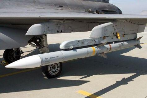 AIM-120C AMRAAM (Pinterest)