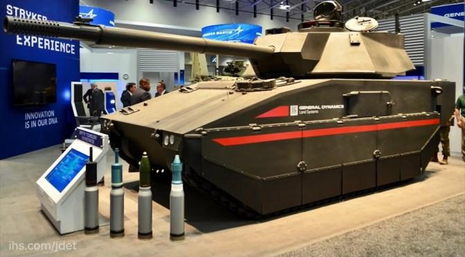 Amerika Pilih GD dan BAE Untuk Bersaing Membangun Prototipe Tank Ringan 30-ton