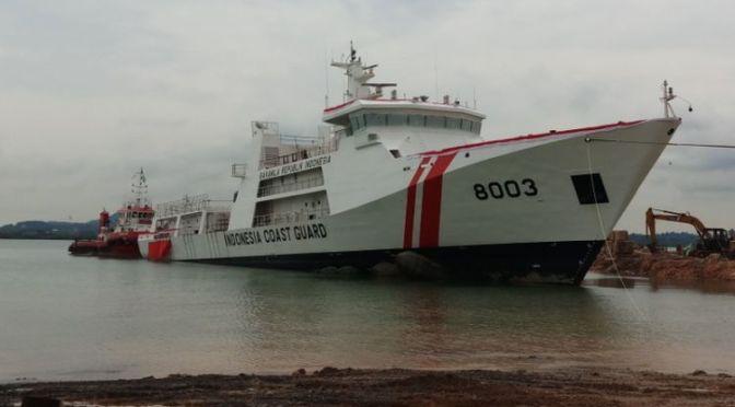 Bakamla Luncurkan Tiga Kapal Patroli