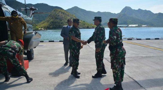 Pelabuhan Kapal Selam dan Kompi Komposit Terintegrasi di Natuna Diresmikan