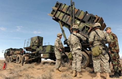 Patriot missile (Istimewa) E