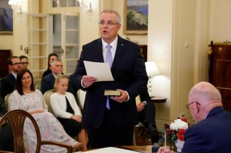 Perdana Menteri Australia Scott John Morrison. REUTERS