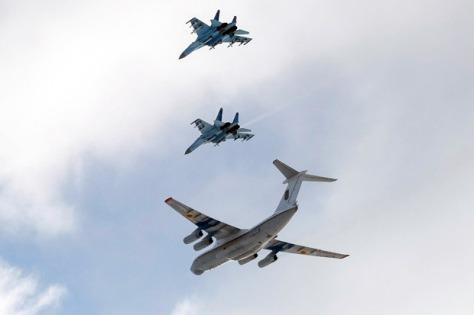 Su-27 dan Su-30 Rusia (Istimewa)