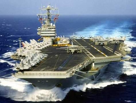 USS Theodore Roosevelt – Nimitz class. (Naval Technology)