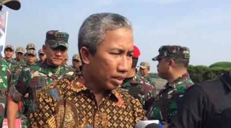Direktur Bisnis dan Produk Hankam PT Pindad Persero, Widjajanto. (Reki Febrian)