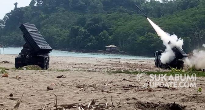 Uji Coba Lima Belas Roket R-Han 122B