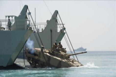 Mesir dan Prancis telah memulai latihan militer bersama yang berlangsung di Laut Merah. (Istimewa)