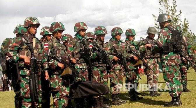 Jenazah Anggota TNI Korban Penembakan KKB di Nduga Diterbangkan ke Timika