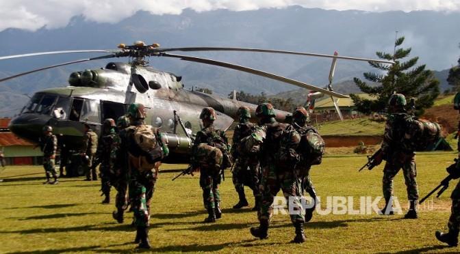 TNI Buru Pelaku Pembantaian Pekerja Trans-Papua di Nduga (Photo)