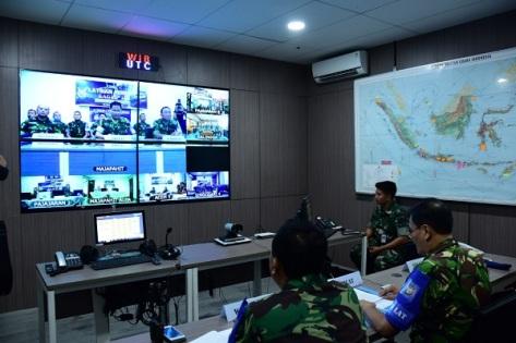 TNI AU Gelar Latihan Pernika dan Cyber Defense 2018