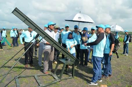 Uji dinamis pembuatan prototipe Manpads tahap III TA. 2018 di Lapangan Tembak AWR Pandanwangi