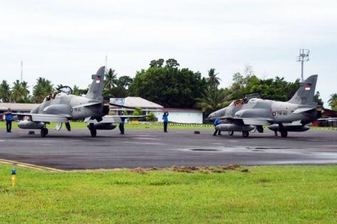 Hawk TNI AU di Natuna (TNI AU)