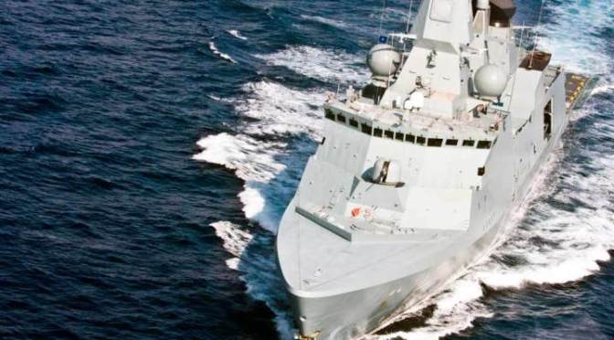 Kementerian Pertahanan Berencana Beli Kapal Perang dari Denmark